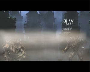 Screenshot of the main menu.